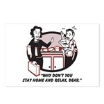 Humorous gifts for mom & dad Postcards (Package of