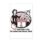 Humorous gifts for mom & dad Mini Poster Print