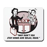 Humorous gifts for mom & dad Mousepad