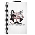 Humorous gifts for mom & dad Journal