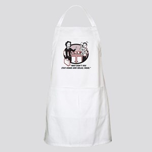 Humorous gifts for mom & dad BBQ Apron