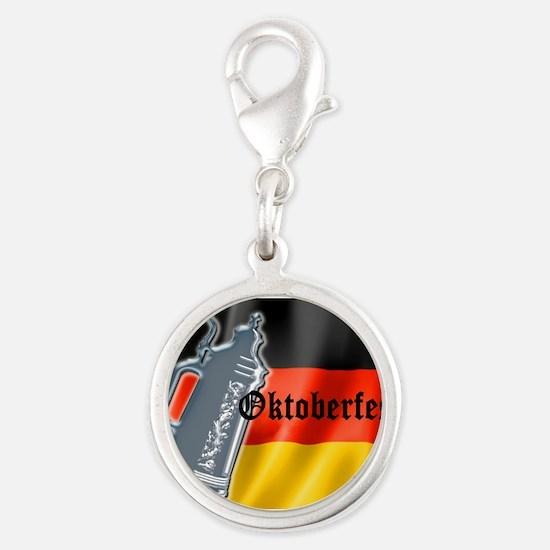 German Flag with Oktoberfest text Charms