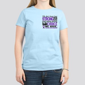 Pancreatic Cancer HowStrongW Women's Light T-Shirt