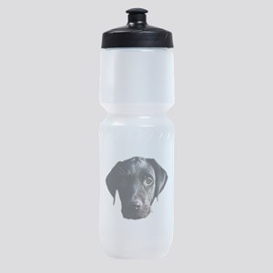 Black lab Sports Bottle