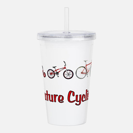 Future Cyclist Acrylic Double-wall Tumbler