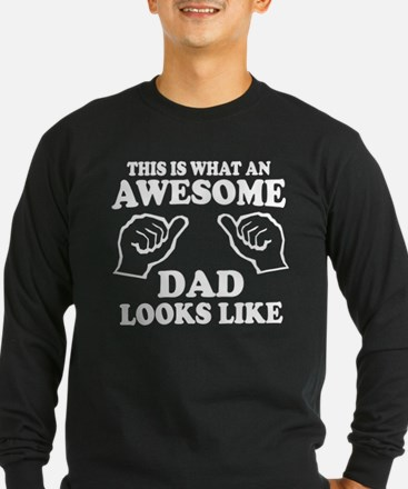 This is what an awesome dad looks like T-shirts Lo