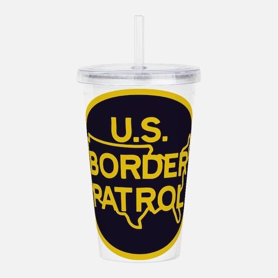 Border Patrol Acrylic Double-wall Tumbler