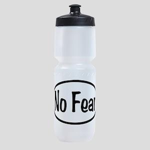 No Fear Oval Sports Bottle