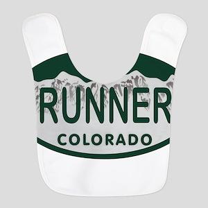 Runner Colo License Plate Bib