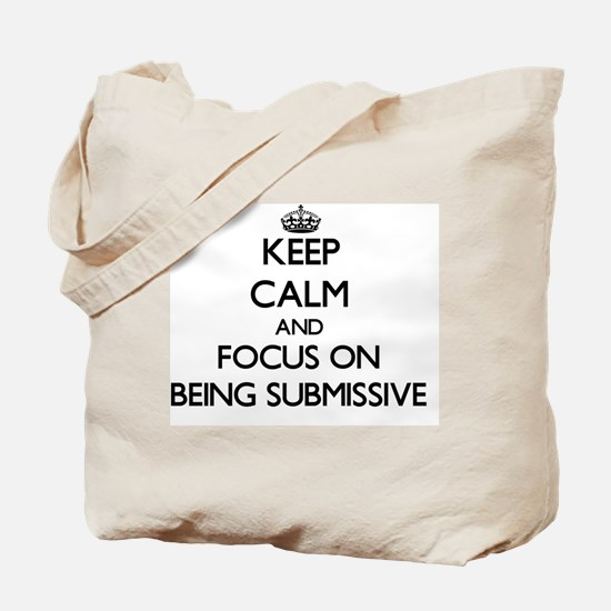 Cute Submissive Tote Bag