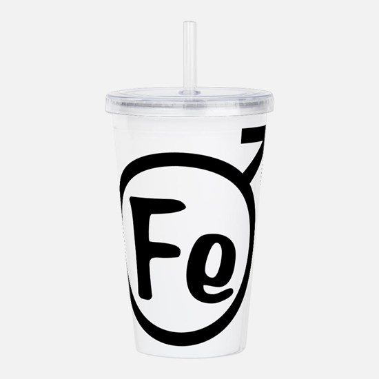Fe Man Acrylic Double-wall Tumbler