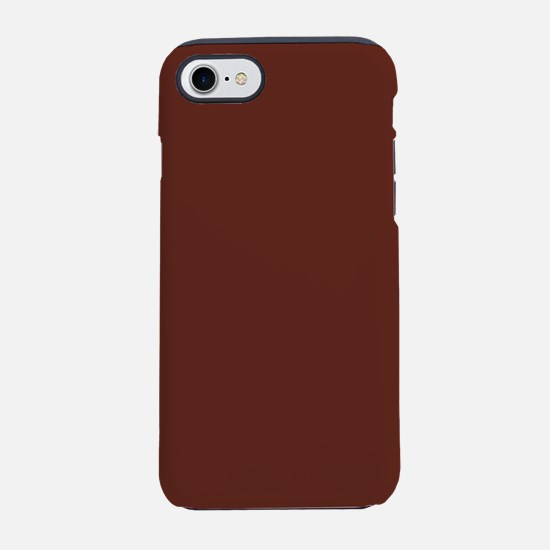 Solid Burnt Sienna iPhone 7 Tough Case