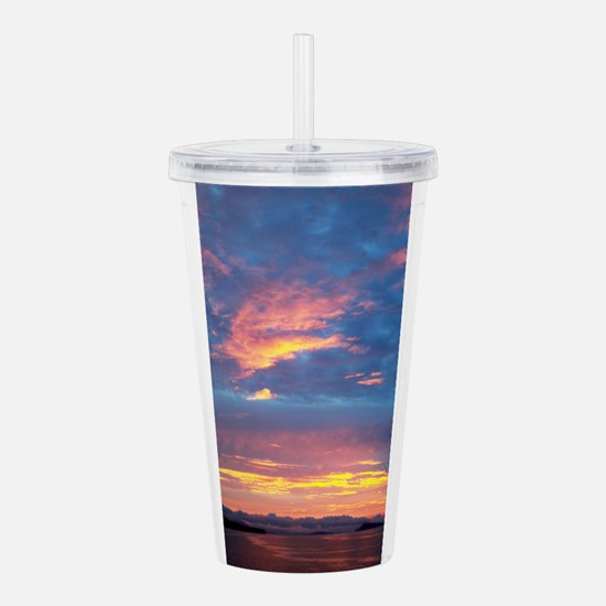 Costa Rica Sunset Acrylic Double-wall Tumbler