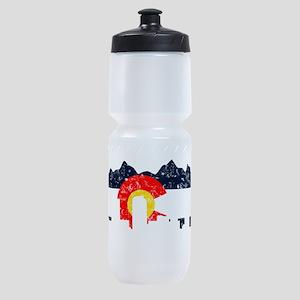 CO_Flag2_wash_Navy Sports Bottle
