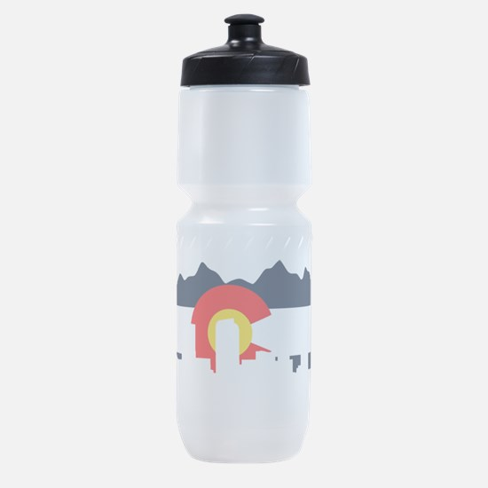 CO_Flag2_Navy.png Sports Bottle