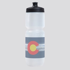 CO_Flag_Mountain Sports Bottle