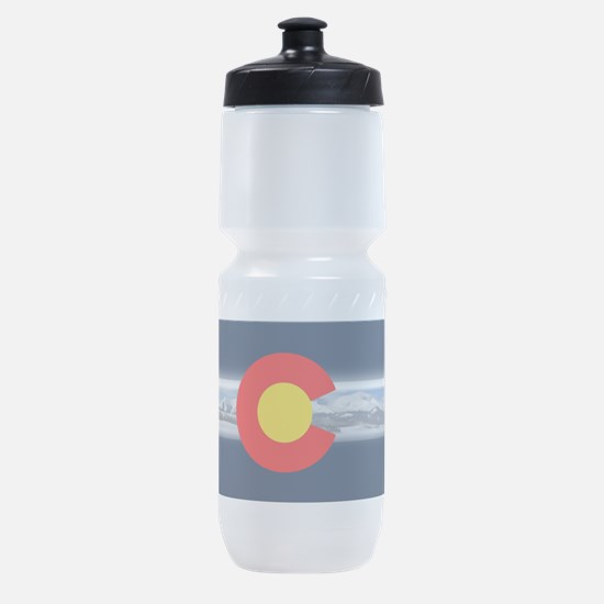 CO_Flag_Mountain.png Sports Bottle
