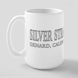 Silver Strand Large Mug