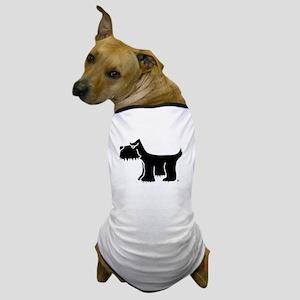 Black Terrier Dog T-Shirt