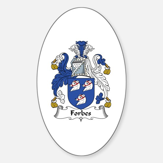 Forbes Oval Decal