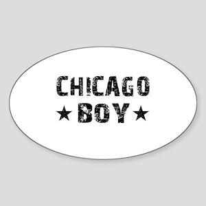 Chicago Boy Sticker
