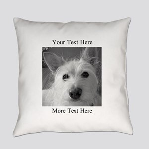 Your Text And Your Photo Here Everyday Pillow