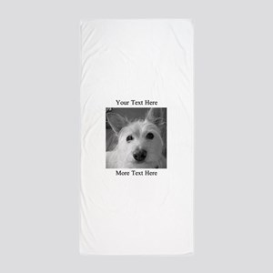 Your Text and Your Photo Here Beach Towel