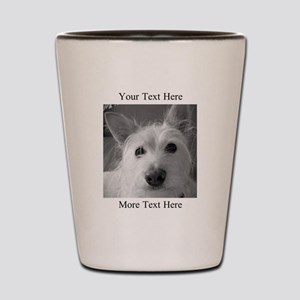 Your Text and Your Photo Here Shot Glass