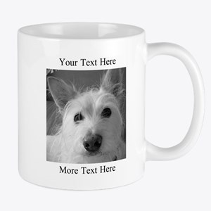 Your Text and Your Photo Here Mugs