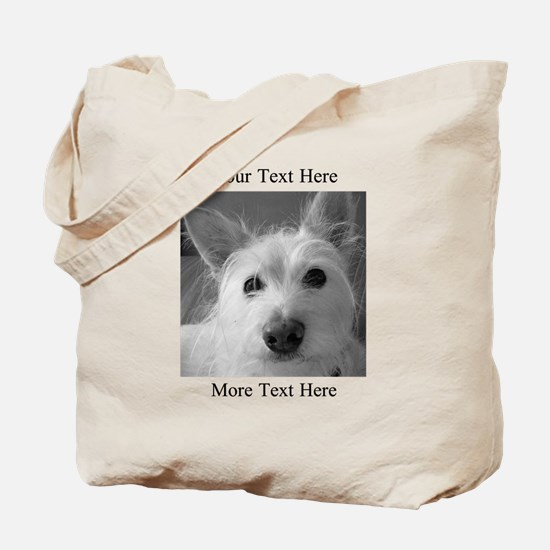 Your Text and Your Photo Here Tote Bag