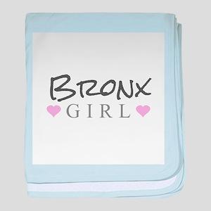 Bronx Girl baby blanket