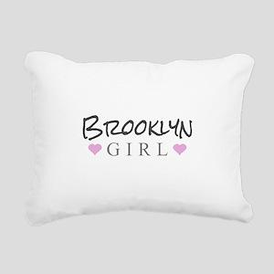 Brooklyn Girl Rectangular Canvas Pillow