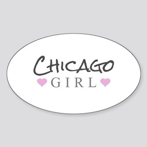 Chicago Girl Sticker