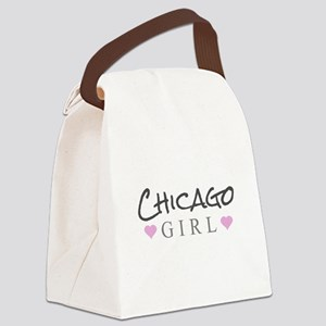 Chicago Girl Canvas Lunch Bag