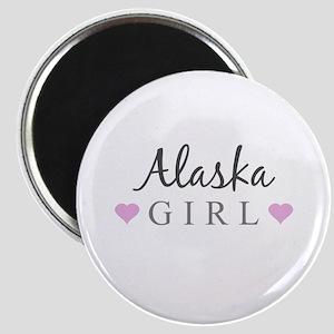 Alaska Girl Magnets