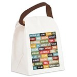 All Of The Above Canvas Lunch Bag