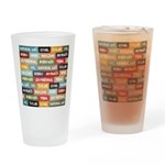 All Of The Above Drinking Glass