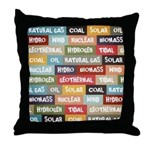 All Of The Above Throw Pillow