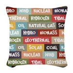 All Of The Above Woven Throw Pillow