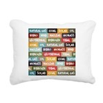 All Of The Above Rectangular Canvas Pillow