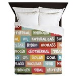 All Of The Above Queen Duvet