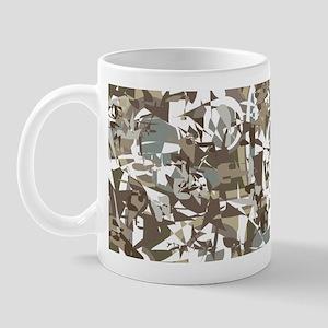Abstract Retro Neutral Mug