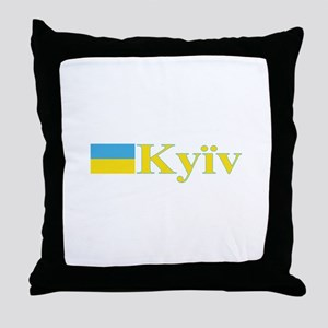 Kyiv, Ukraine Throw Pillow