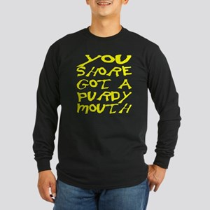 Purdy Mouth Long Sleeve Dark T-Shirt