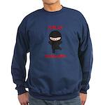 Ninja Blogger Sweatshirt (dark)
