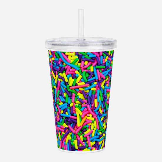 Funny Sprinkles Acrylic Double-wall Tumbler