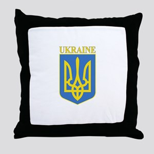 Ukraine Throw Pillow