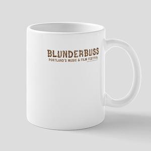 Blunderbuss Portlands Music and Film Festival Mugs