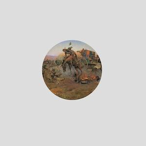 Vintage Cowboys Mini Button
