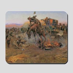 Vintage Cowboys Mousepad